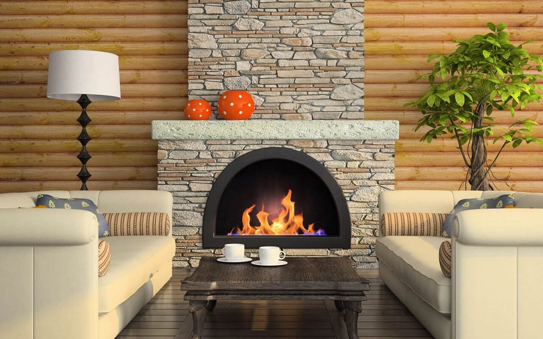 home maintenance tasks include cleaning the fireplace