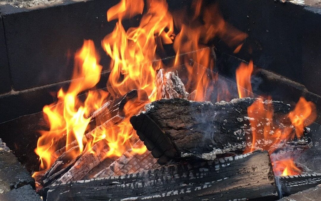 practice fire pit safety this summer