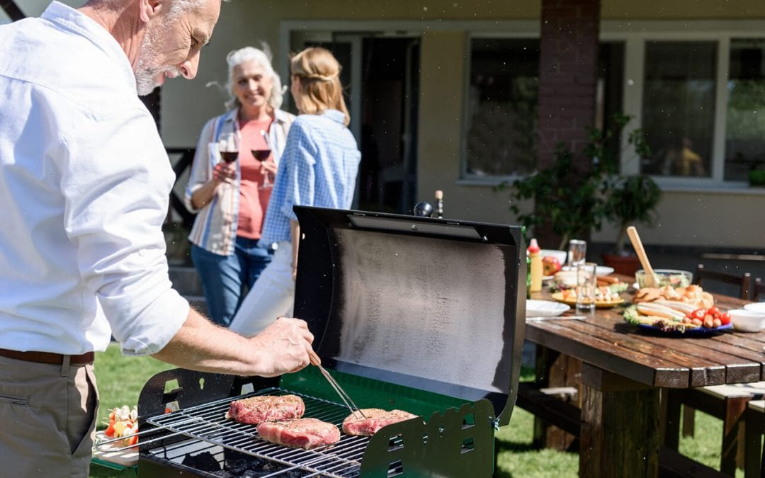 practice grilling safety when cooking out this summer